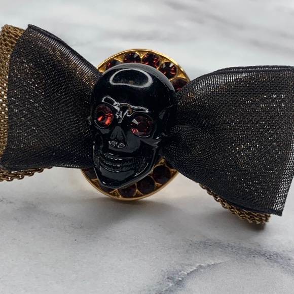 Tarina Tarantino Beautiful Wickedness Skull Ring
